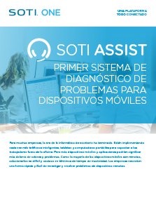 Folleto de SOTI Assist