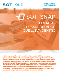 Folleto de SOTI Snap
